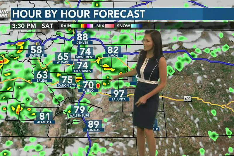 Rain continues this weekend