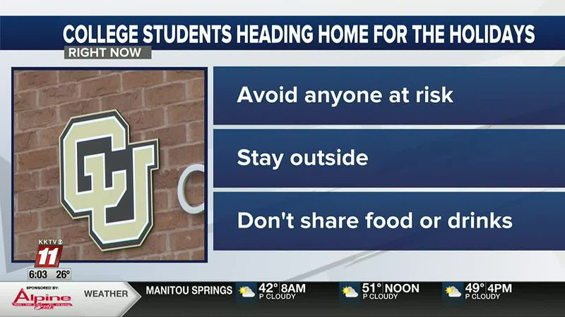 How college students can safely return home for Thanksgiving break