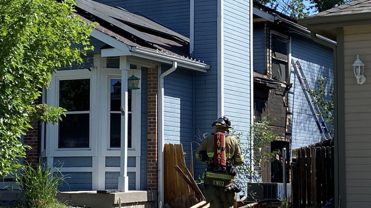 Colorado Springs fire Department is currently on scene of a basement fire near East Woodmen...