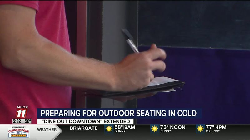 Restaurants prepare for cold weather impacting outdoor seating