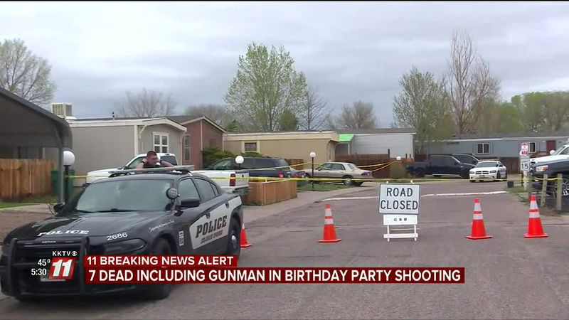 A gunman opened fire during a birthday party early Sunday morning, leaving behind a horrific...