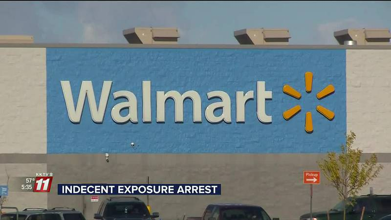 Robert Locey was arrested on Monday after he allegedly follow a woman through a Pueblo Walmart...