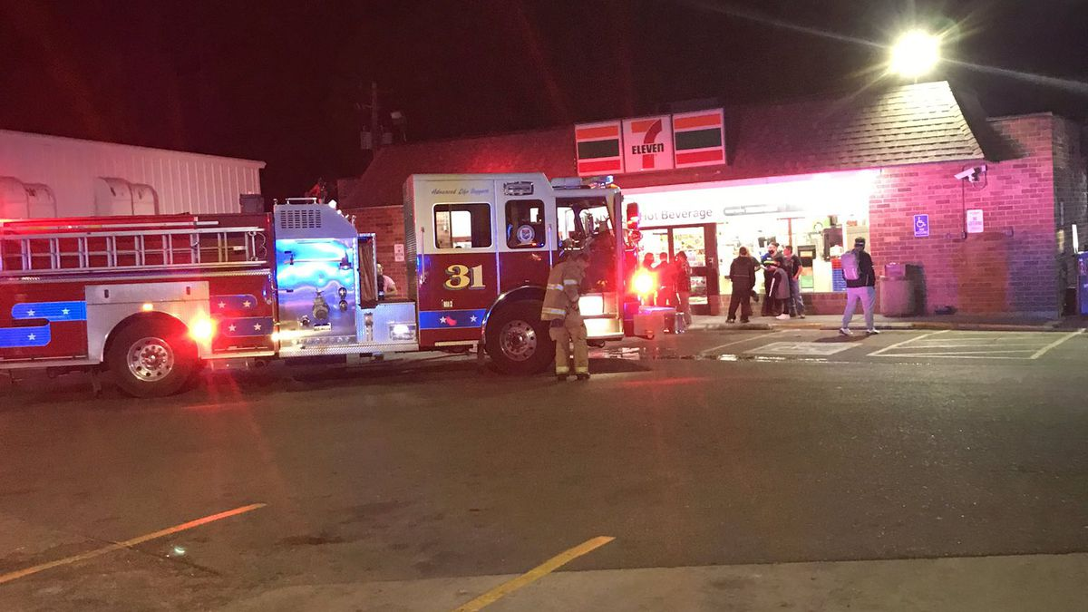 The fire happened behind the Dollar General on fourth Street in Pueblo.