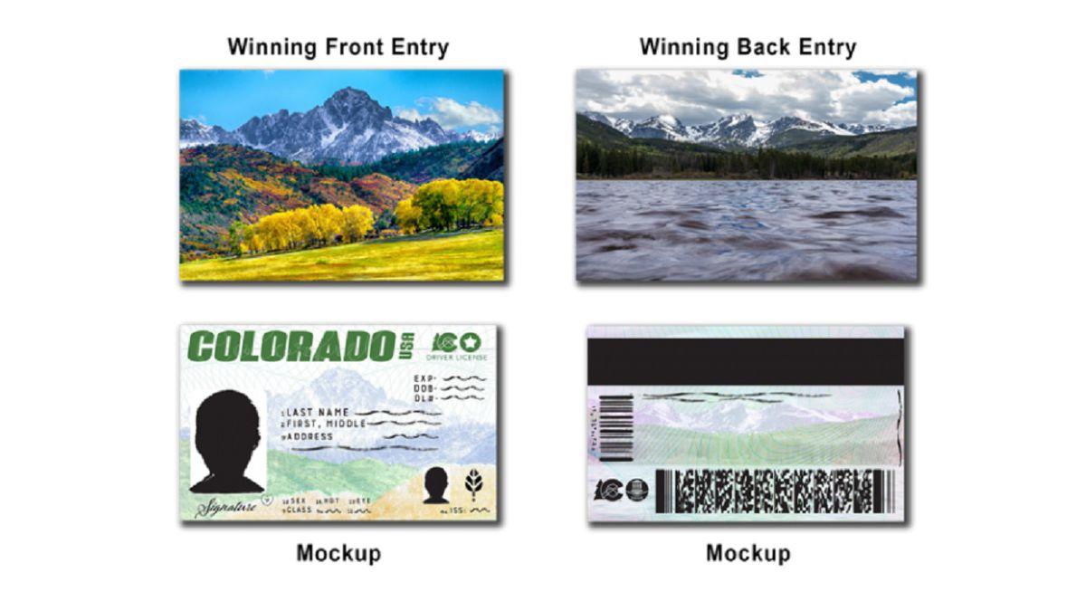 New driver's license designs for Colorado.