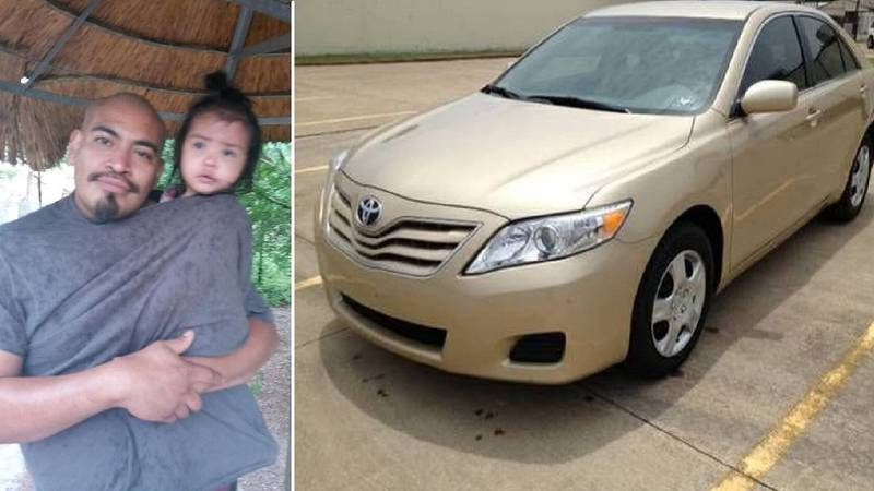 Alexander Damian Martinez and Gabriella Martinez. Photo of the car is a stock photo of the...