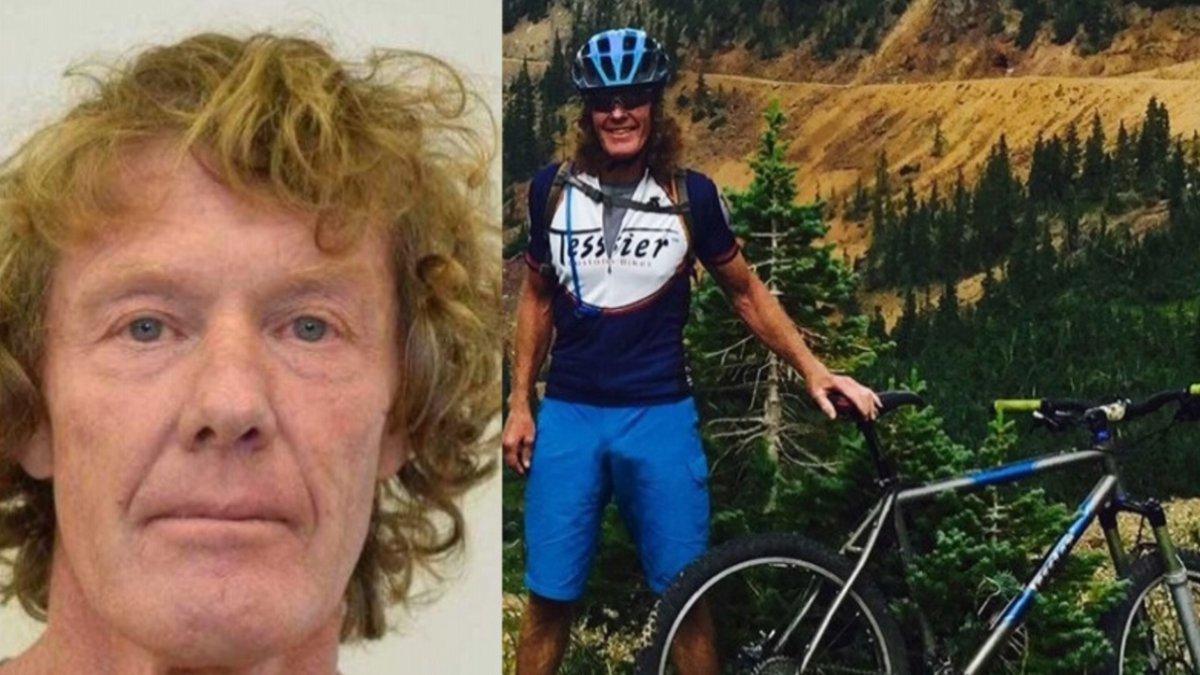 Tim Watkins was shot and killed while mountain biking on Sept. 14, 2017.