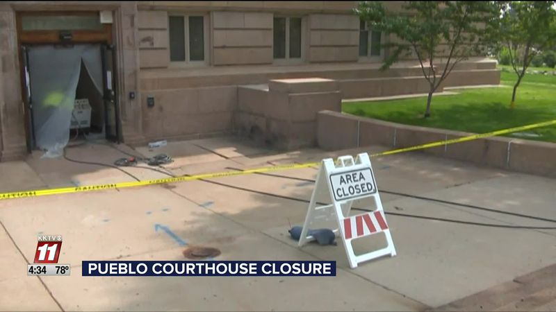 Pueblo County Courthouse Closed Tomorrow