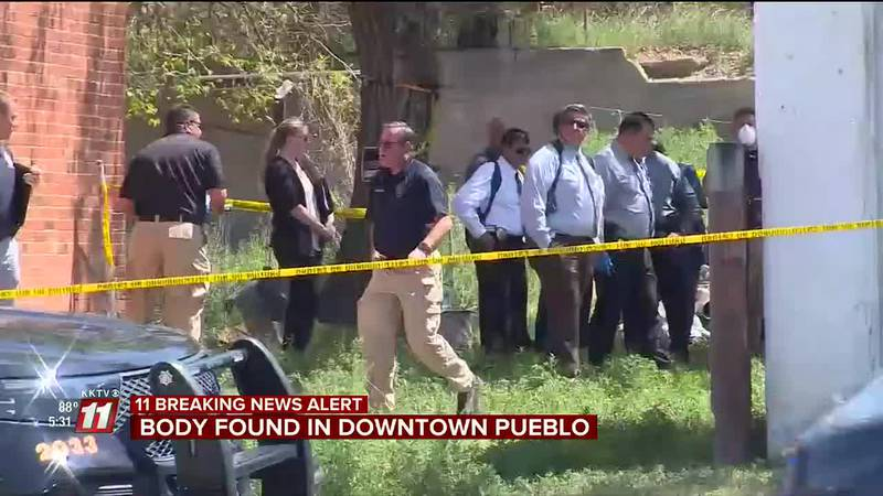 A body was found this morning behind a house at the corner of Chester Ave and Center City Dr....