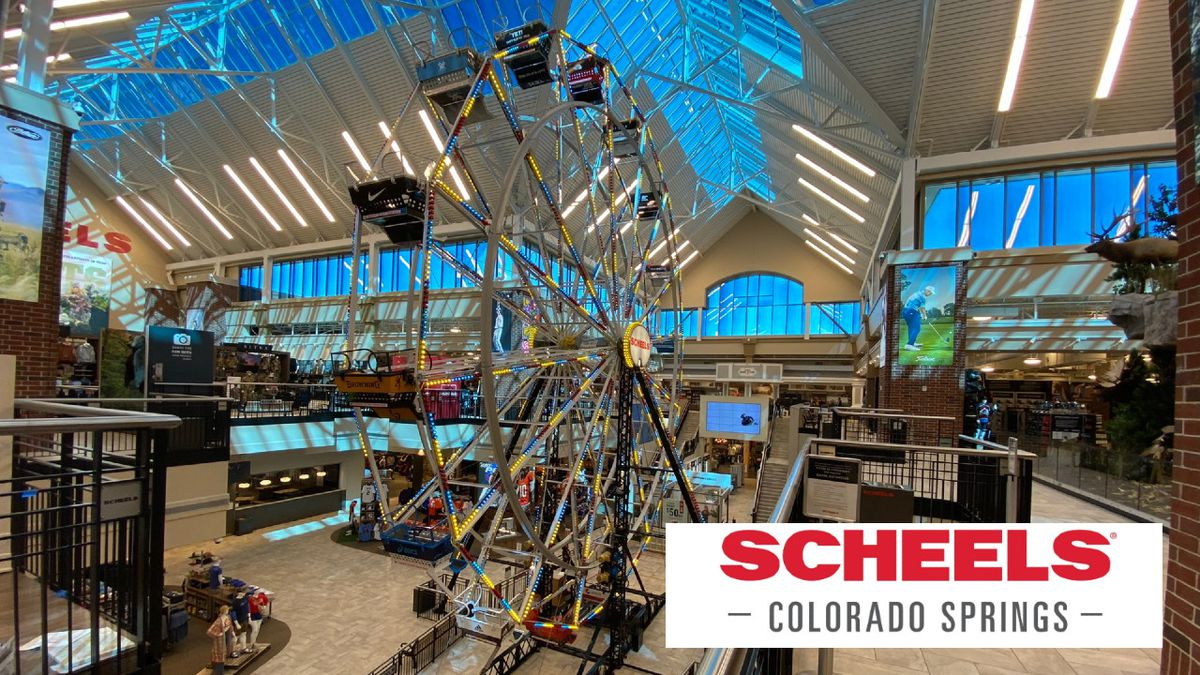 Scheels, a brand new sporting good store, opened Saturday off Interquest Parkway just east of...