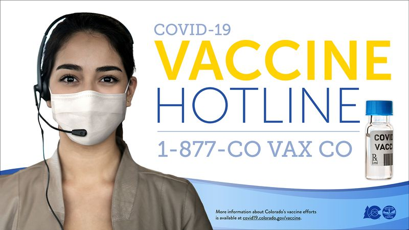 The Colorado State Health Department is launching a new COVID-19 hotline to help get more...