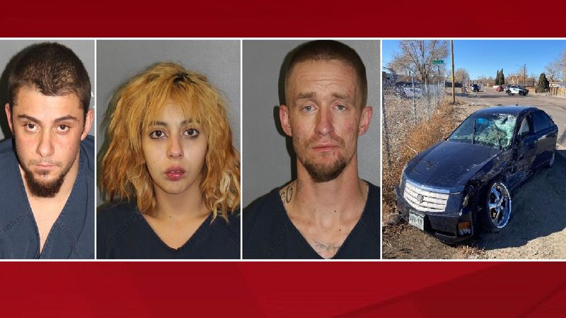 Three suspects in an attempted marijuana robbery case.