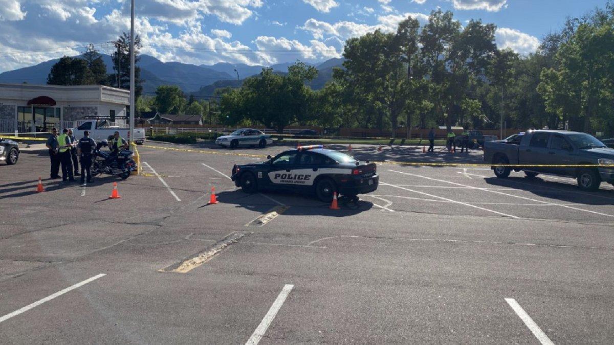 Crash involving a child in Colorado Springs 6/3/21.