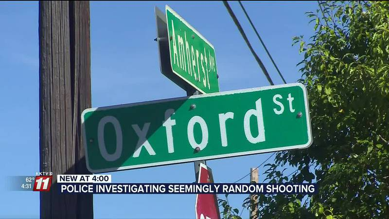 Police say the incident happened just after nine o'clock last Friday night.