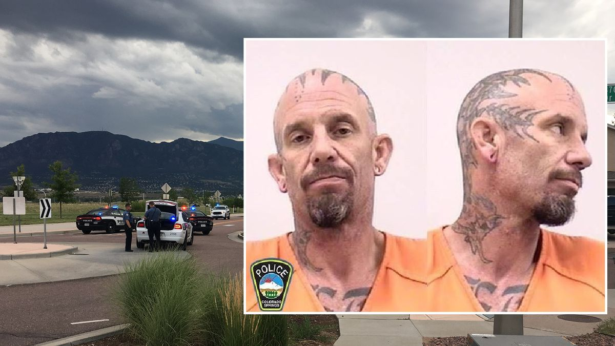 Person of interest Mark Peters<br />Photo courtesy: CSPD