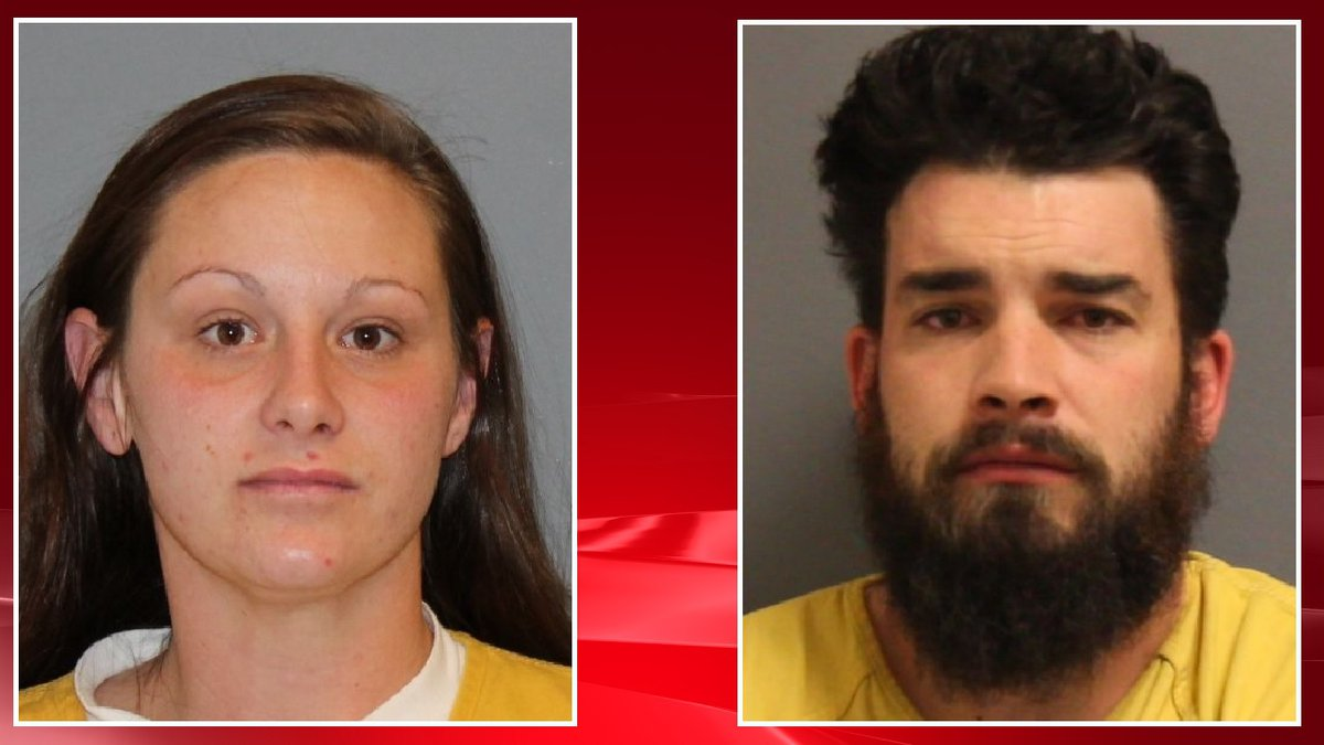 Forrest and Cory Nash were arrested for child abuse charges.  Photos courtesy Mesa County...