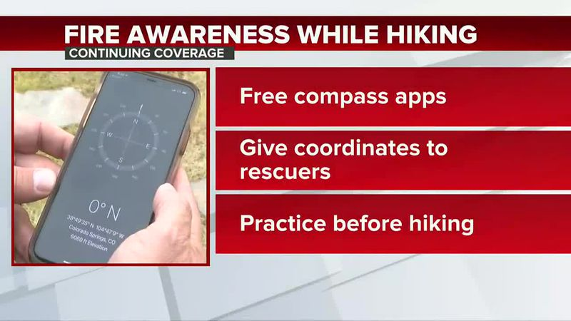 Hikers and campers: What to do if encountering a fire