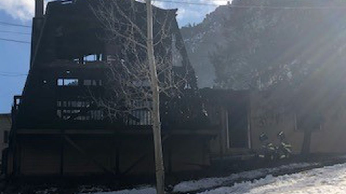 Crews responding to house fire 12/13/2019