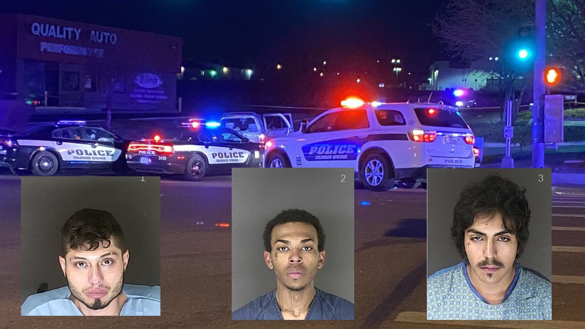 The El Paso County Sheriff's Office has identified three suspects allegedly invovled in the...