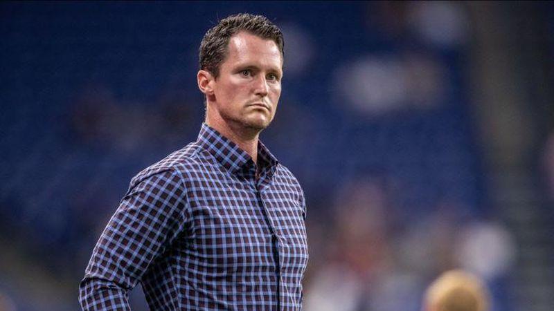 Switchbacks FC new head coach Brendan Burke