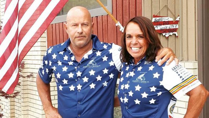 Dean Zenoni, a USMC retired Master Sergeant, and his wife Dr.  Lorri Zenoni