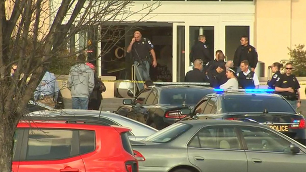 Police are investigating a shooting at Cumberland Mall in Cobb County, Georgia, on Saturday....