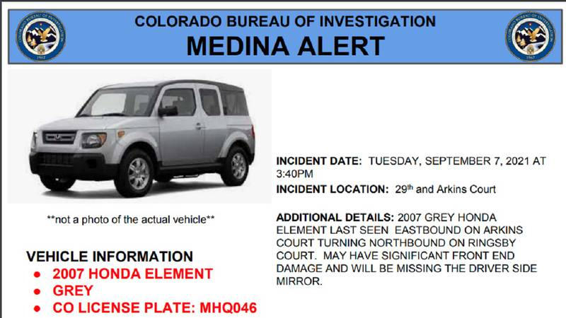Alert issued 9/7/21 at about 5 pm