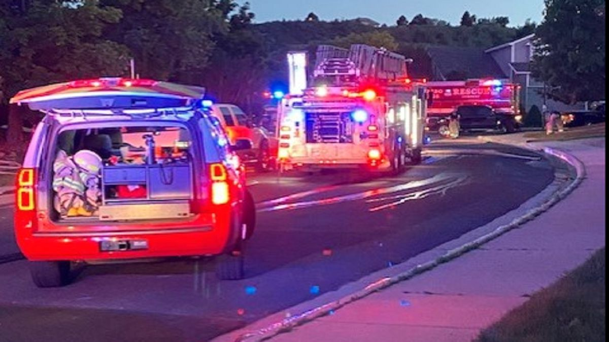 Crews responded to a house fire started by a grill in Colorado Springs. 6/10/21
