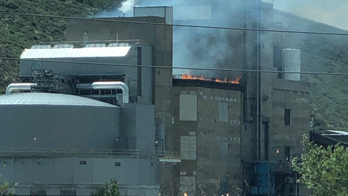 A small fire broke out at the Coors brewery in Golden on July 30, 2020.