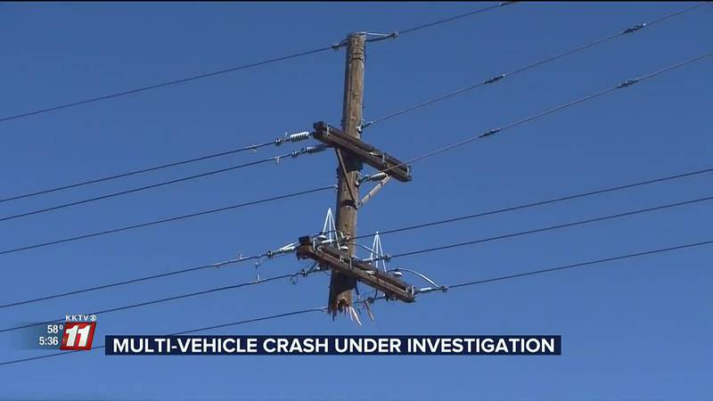 This morning Powers and Stetson Hills Blvd was the scene of a major crash that caused thousands...
