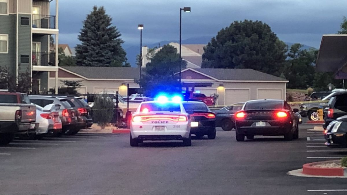 Two people were shot at a Colorado Springs Apartment Complex on 7/30/20.