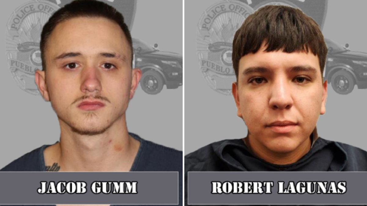 Two men are suspects in two separate drive-by shootings.