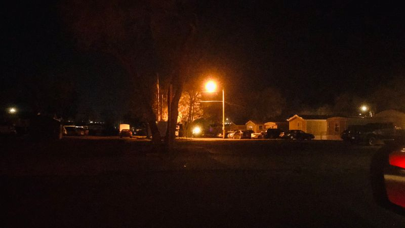 Pueblo Police officers responded to a mobile home park near West 30th Street for calls about a...