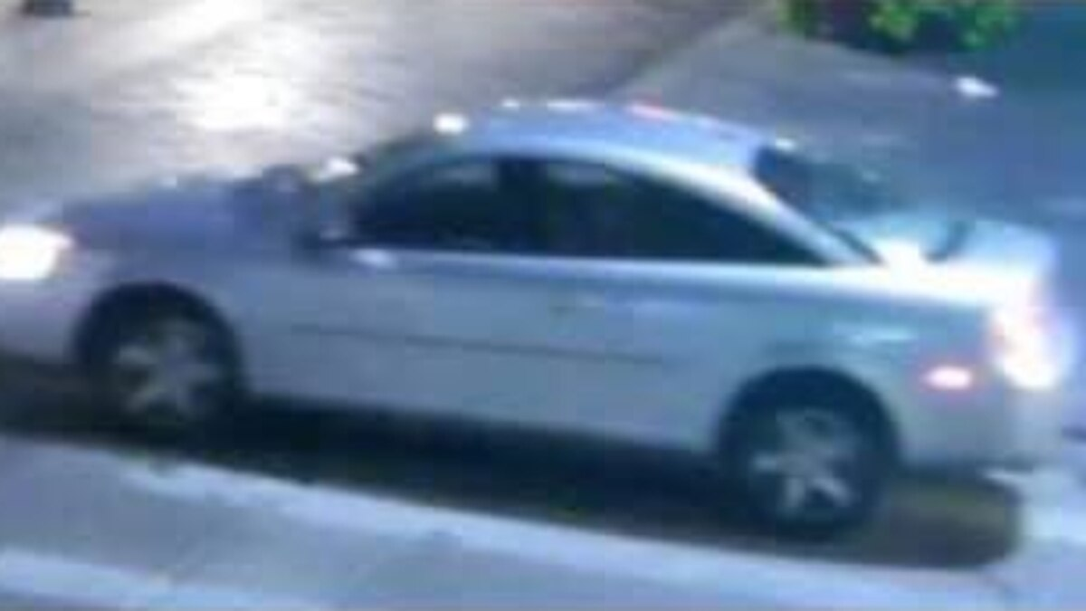 Denver police released this photo of the car involved in a deadly hit-and-run crash on Sept. 7, 2020.
