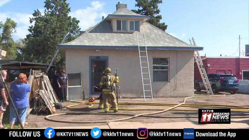 business house fire