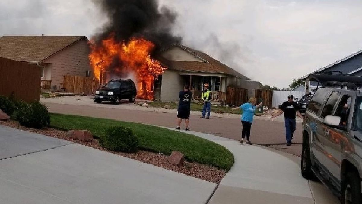 Three animals were killed after a fire started in a garage at a home in Security-Widefield on Aug. 4, 2020.  The neighborhood is located off Wayfarer Driver on the far eastern side of town.