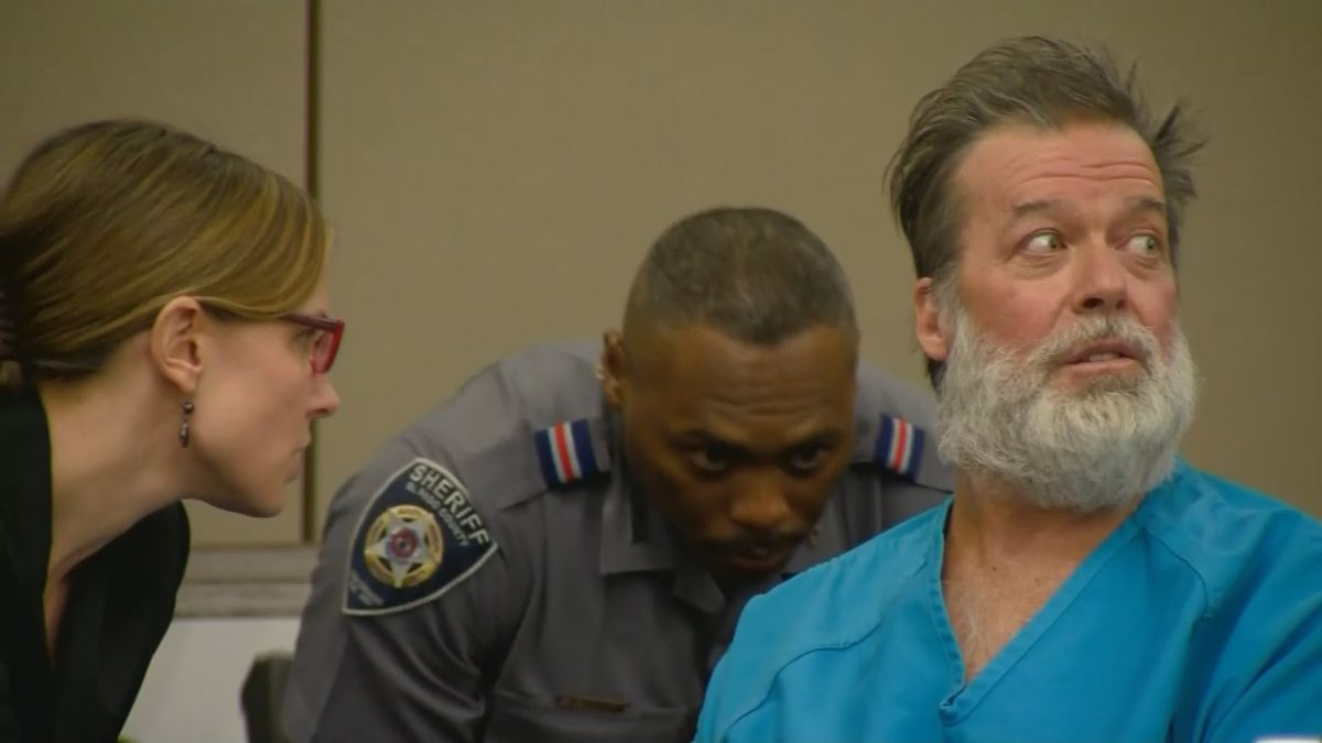 Robert Dear at a 2015 hearing.