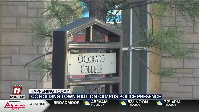 Colorado College students hold town hall proposing less campus police presence