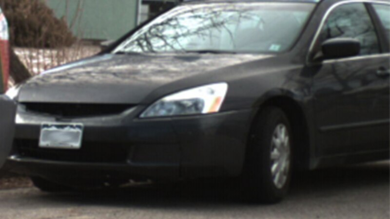Police say this is the car that was used in the March 29, 2021 robbery.  It is a 2003 model and...