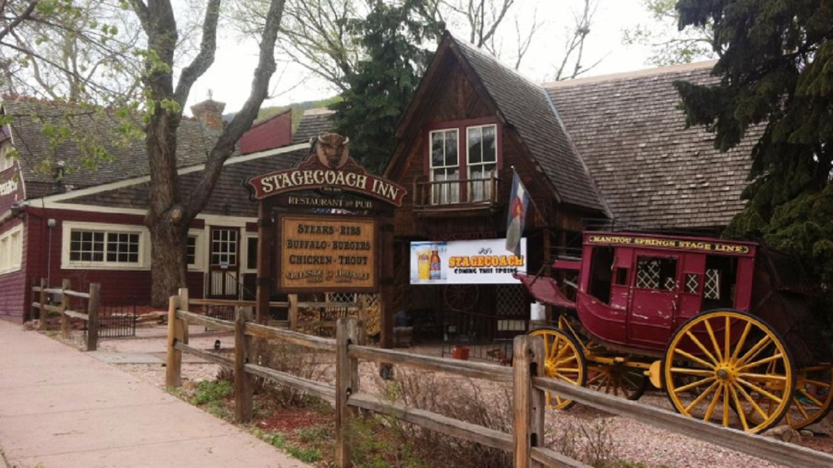 Stagecoach Inn in Manitou Springs.   File photo from Rich Laden with the Gazette. Cropped.