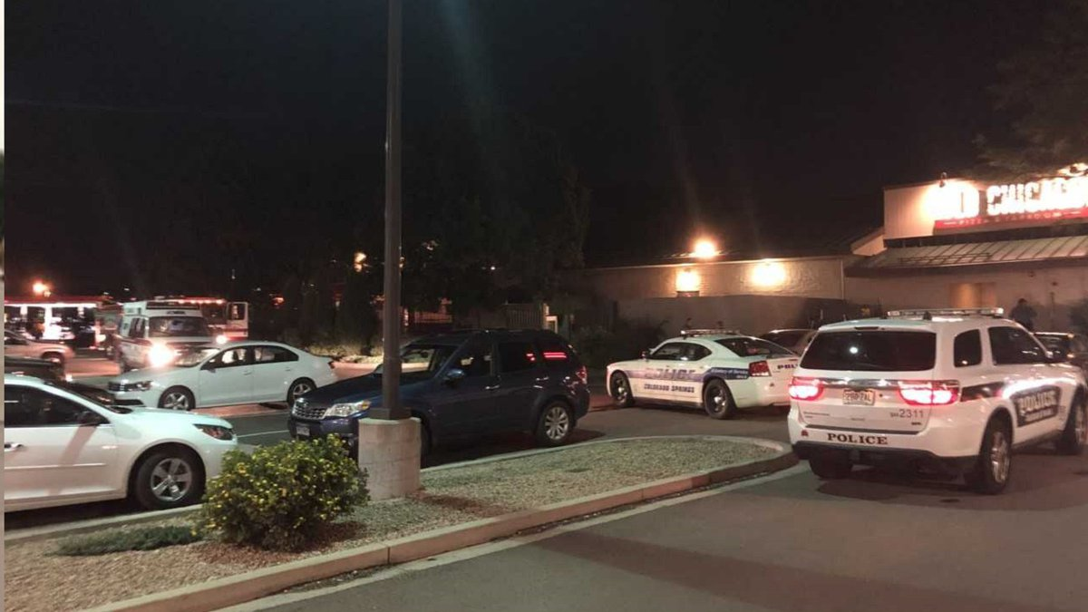 A shooting happened at an Old Chicago in Colorado Springs on 8/3/19.