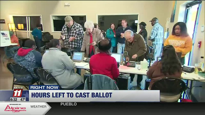 Hours left to cast ballots