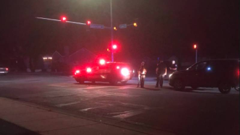 Pueblo police are reporting a man was stabbed in the head and was trying to drive himself to...