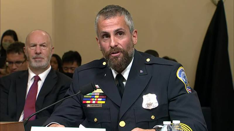 """Officer Michael Fanone: """"The indifference shown to my colleagues is disgraceful."""""""