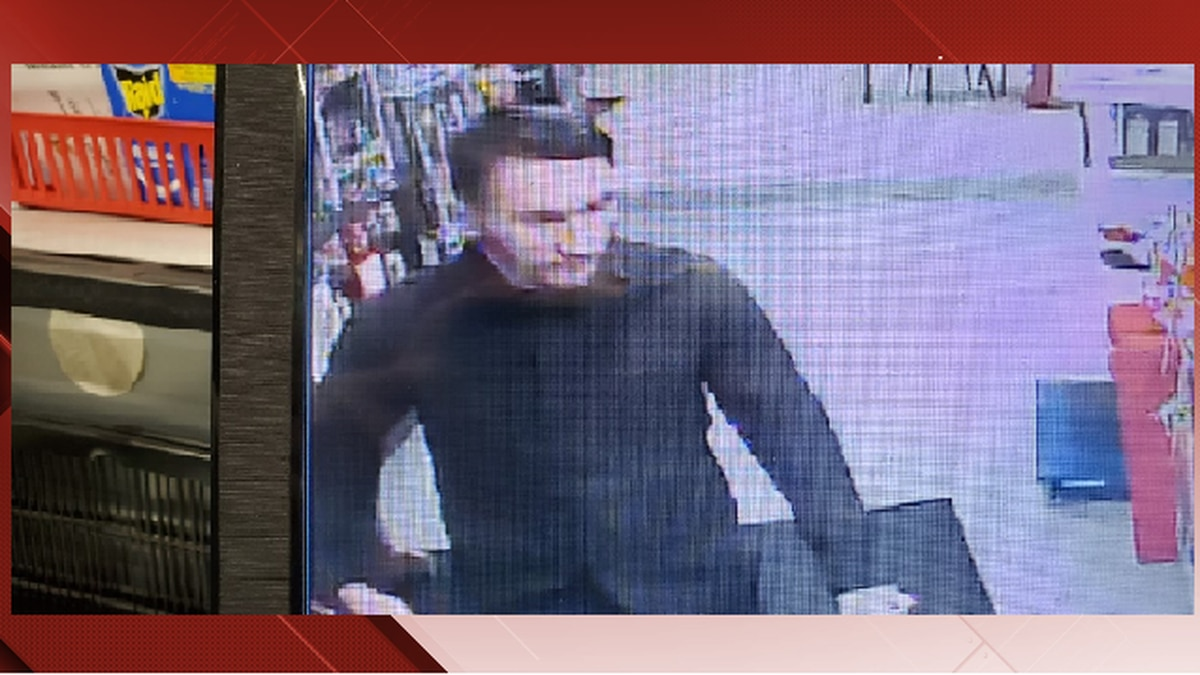 Michael Alexander Brown that was taken from a surveillance camera from a local shop Saturday (Franklin County Sheriff's Office)