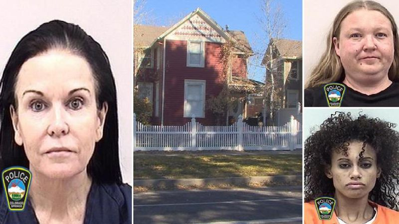 The woman pictured on the left is Carla Faith. Christina Swauger is pictured in the upper...