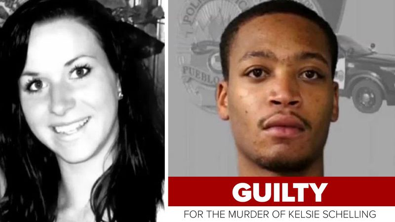 Donthe Lucas, pictured on the right, was found guilty of murder on 3/8/21.  His girlfriend...