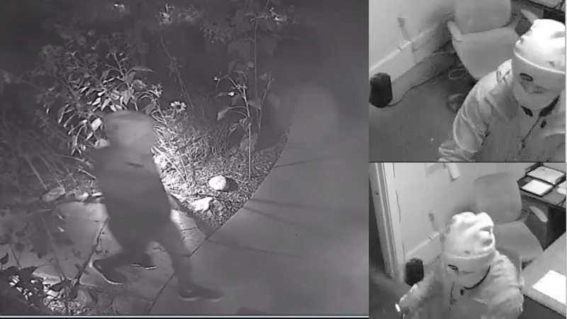 The Manitou Springs police department needs your help identifying a burglary and vandalism...