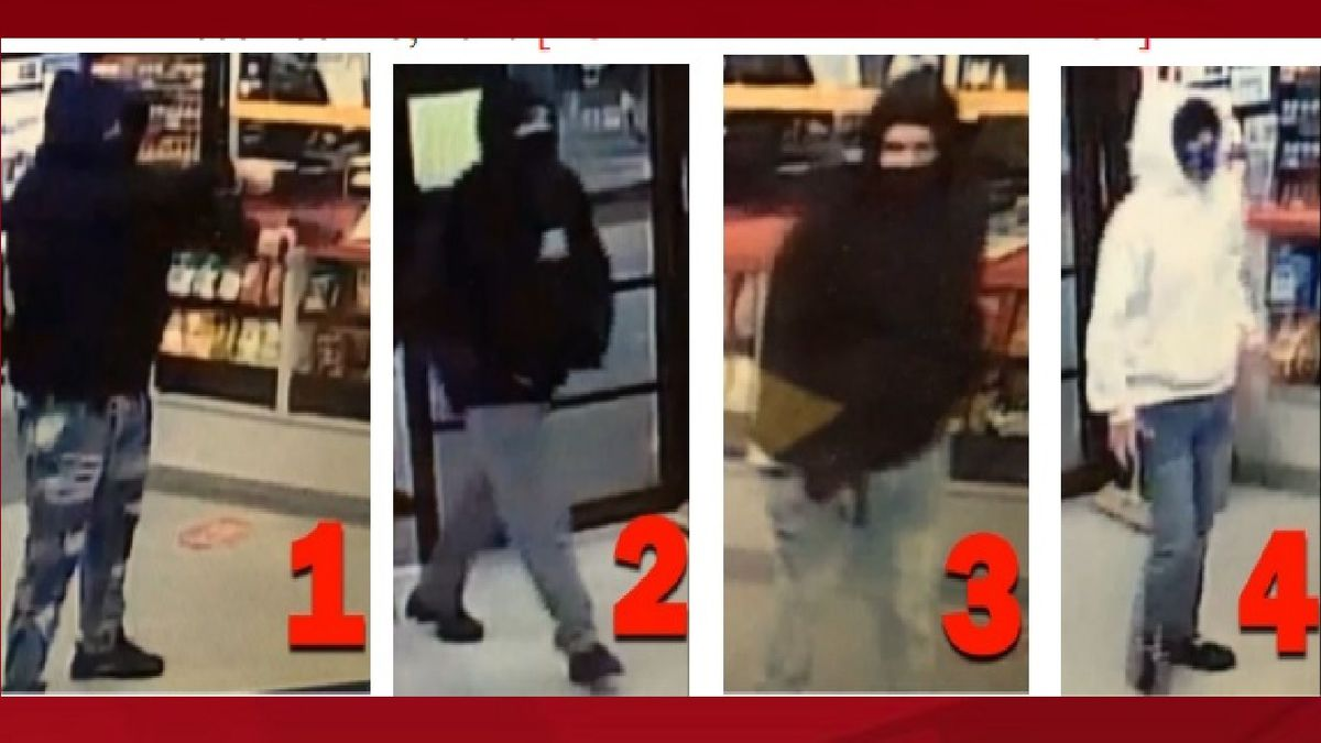 Armed robbery suspects.