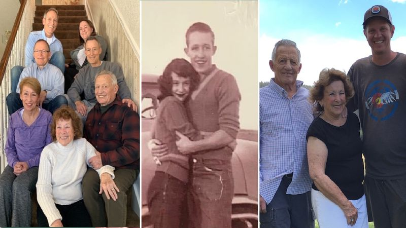 Lyle and Marylin Hileman (Pictured in the center and on the left/right side.) Their grandson...
