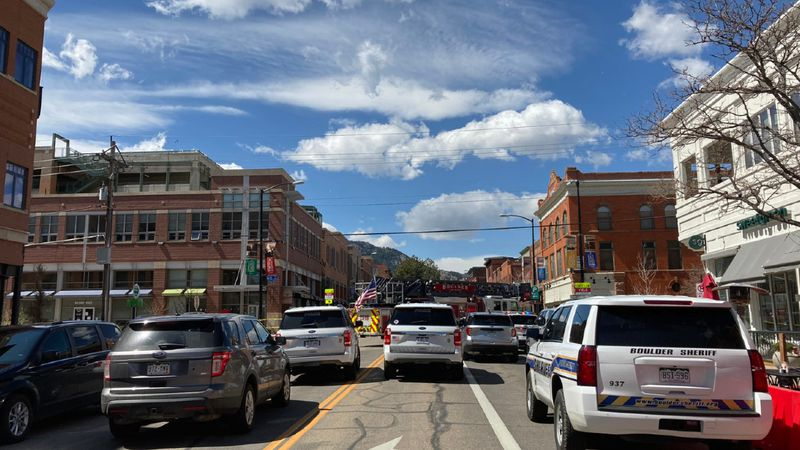 The Boulder Police department has issued a mandatory shelter-in-place order around 11 a.m...